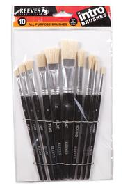 Reeves Intro Brushes Set of 10 image