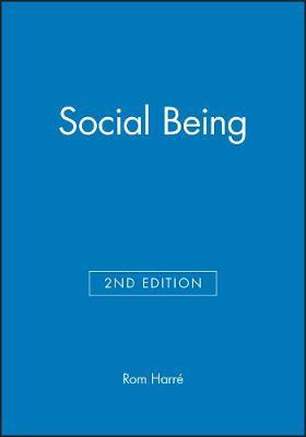 Social Being by Rom Harre image