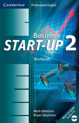 Business Start-Up 2 Workbook with Audio CD/CD-ROM by Bryan Stephens image