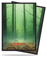 Magic the Gathering Ixalan Sleeves: Forest (80)