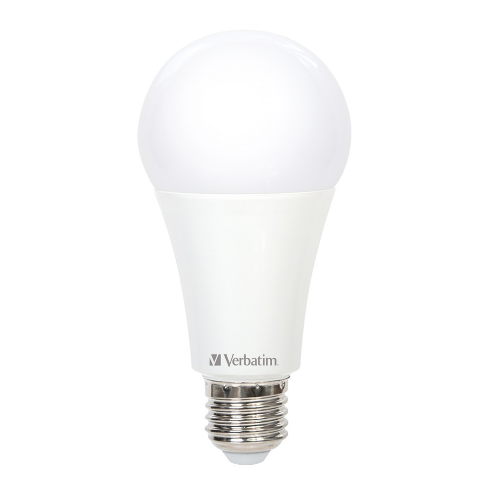 Verbatim LED Classic A 15W 1600lm 4000K Cool White E27 Screw Dimmable image