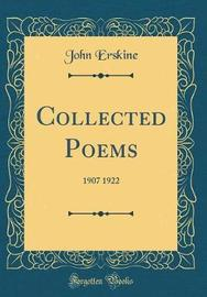 Collected Poems by John Erskine
