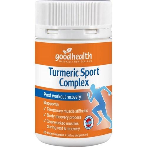 Good Health - Turmeric Sport Complex Capsules (30s)
