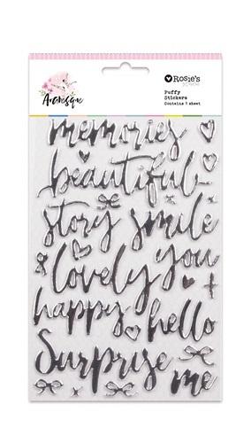 Rosie's Studio: Foil Foam Stickers - Arabesque