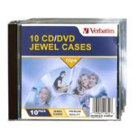 Verbatim CD/DVD Empty Jewel Cases 10 Pack Empty Jewel Case / Cases image