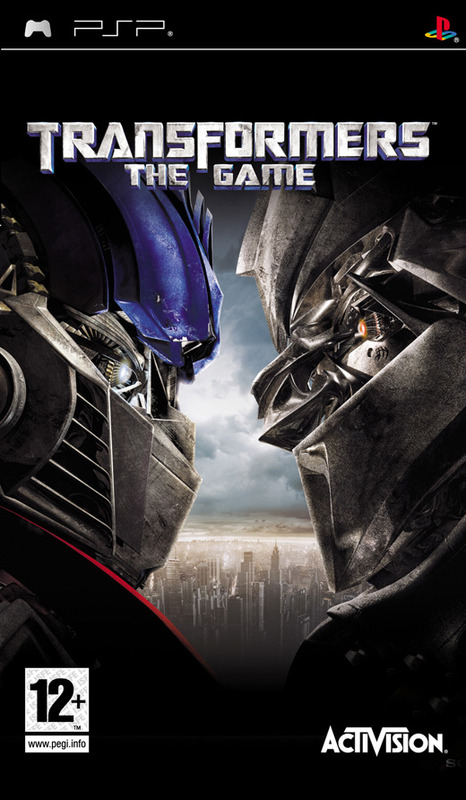 Transformers: The Game for PSP