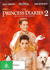 Princess Diaries 2, The - Royal Engagement on DVD image