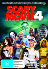 Scary Movie 4 on DVD