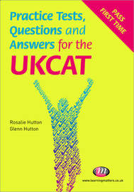 Practice Tests, Questions and Answers for the UKCAT by Rosalie Hutton image