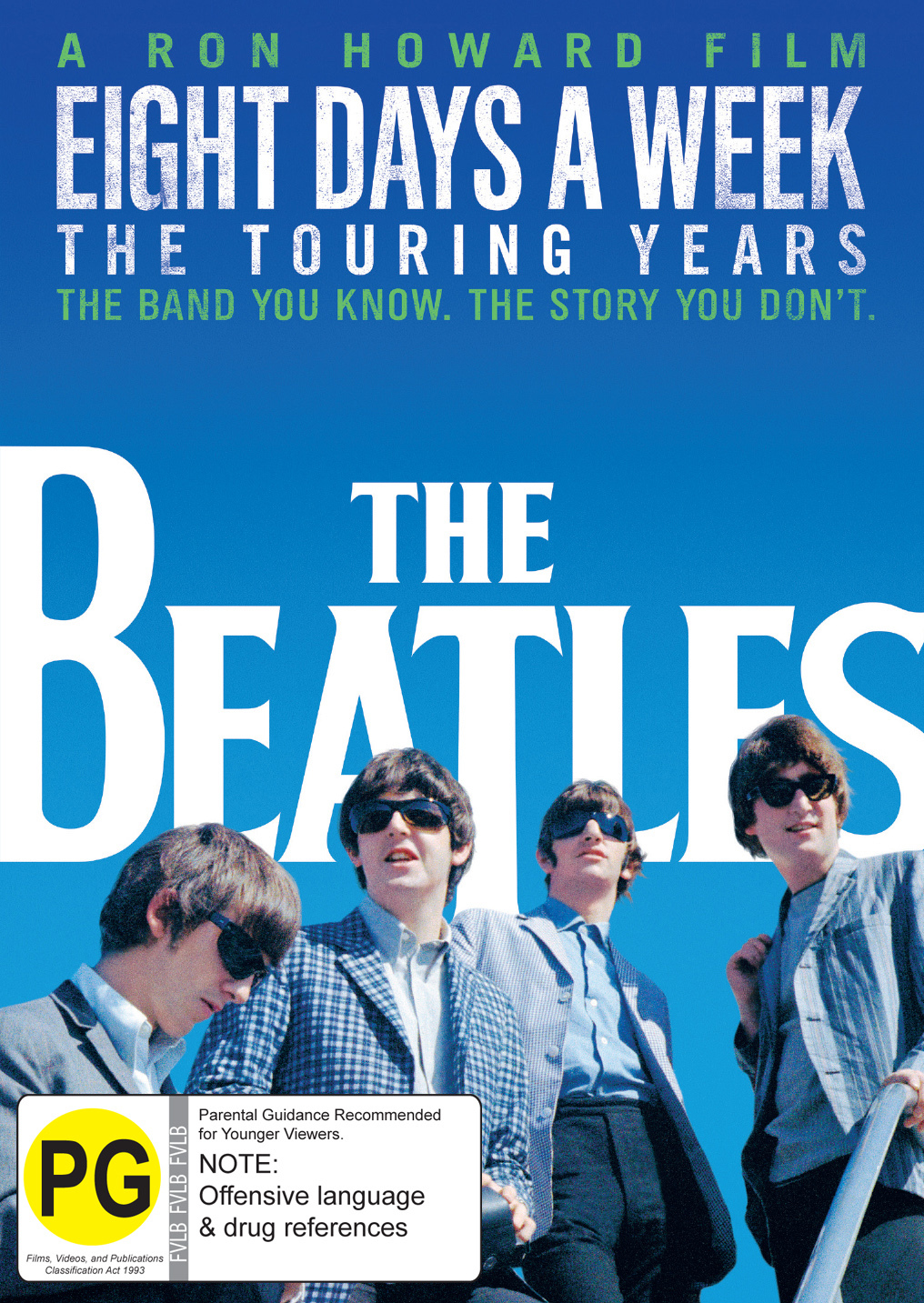 The Beatles: Eight Days a Week - The Touring Years on DVD image