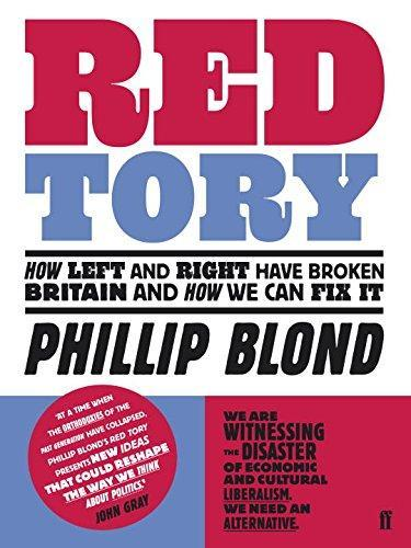 Red Tory by Phillip Blond image