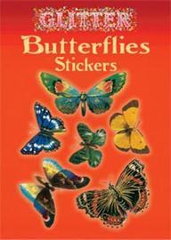 Glitter Butterflies Stickers by Anna Samuel