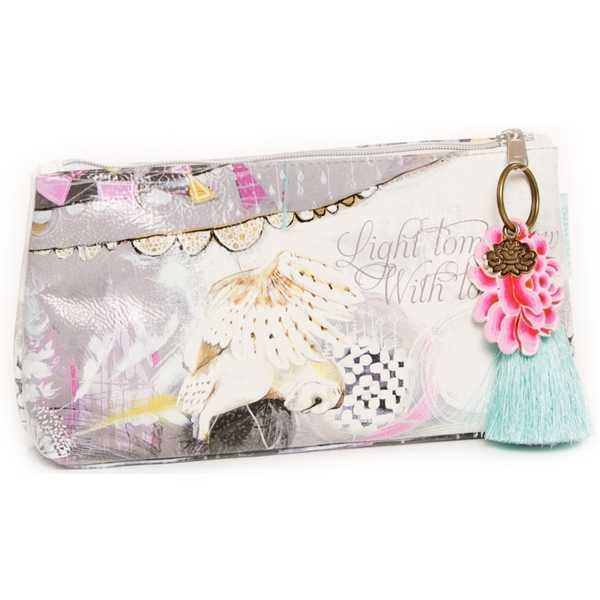 Papaya Small Cosmetics Bag - Dreamcatcher