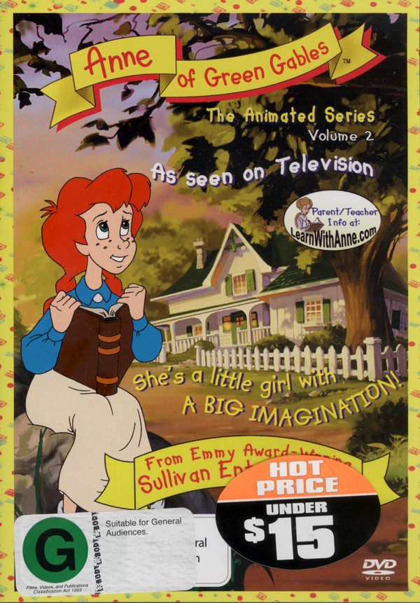 Anne Of Green Gables - The Animated Series: Vol. 2 on DVD image