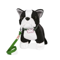 "Our Generation: 6"" Standing Puppy - Boston Terrier"
