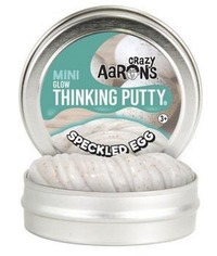 Crazy Aarons Thinking Putty: Speckled Egg - Mini Tin