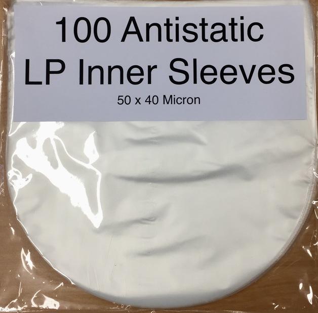 "12"" Anti-Static Plastic Inner Sleeves (Pack of 100)"