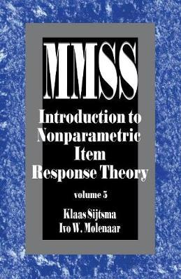 Introduction to Nonparametric Item Response Theory by Klaas Sijtsma