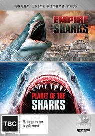 Great White Attack Pack: Empire of the Sharks & Planet of the Sharks on DVD image