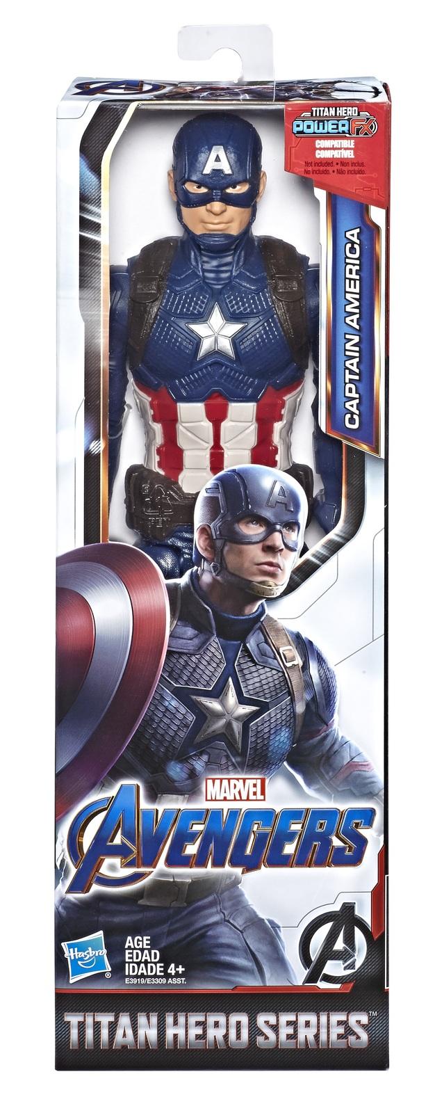 "Avengers Endgame: Captain America - 12"" Titan Hero Figure image"