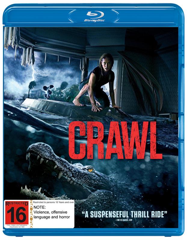 Crawl on Blu-ray