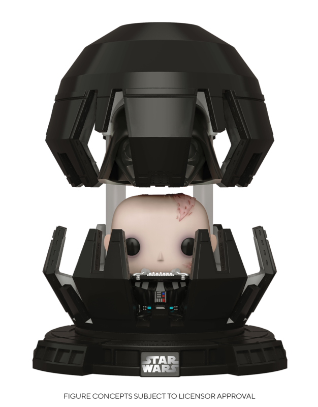 Star Wars: Darth Vader (Meditation Chamber) - Pop! Deluxe Figure