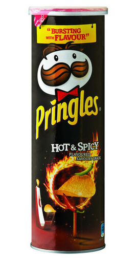 Pringles Hot n Spicy 165g