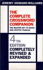 The Complete Crossword Companion by Jeremy Howard-Williams image