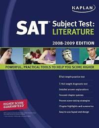 Literature: 2008-2009 by Kaplan image