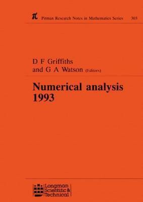 Numerical Analysis 1993 by D. F. Griffiths