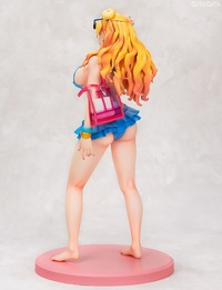Please Tell Me! Galko-chan: 1/6 Galko-Chan (Swimsuit Ver.) - PVC Statue image