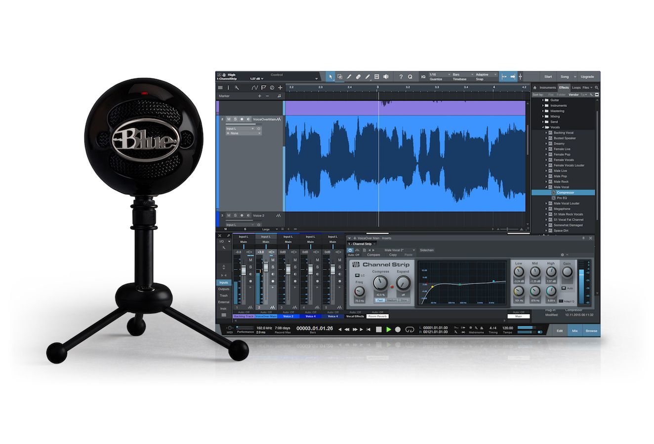 Blue Microphones Snowball Studio (Gloss Black) for  image
