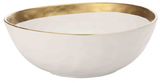 Maxwell & Williams Swank Bowl 28cm (White/Gold)