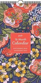 Posh: Folksy Flora 16-Month 2018-2019 Wall Calendar by Andrews McMeel Publishing