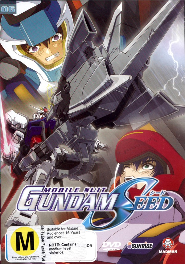 Gundam Seed - Vol 06 Momentary Silence on DVD image