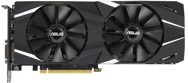 ASUS GeForce Dual RTX 2060 OC Edition 6GB Graphics Card