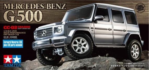 Tamiya 1/10 R/C Mercedes-Benz G 500 (CC-02)