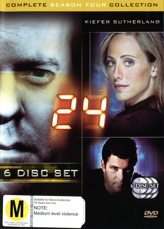 24 - Season 4 on DVD