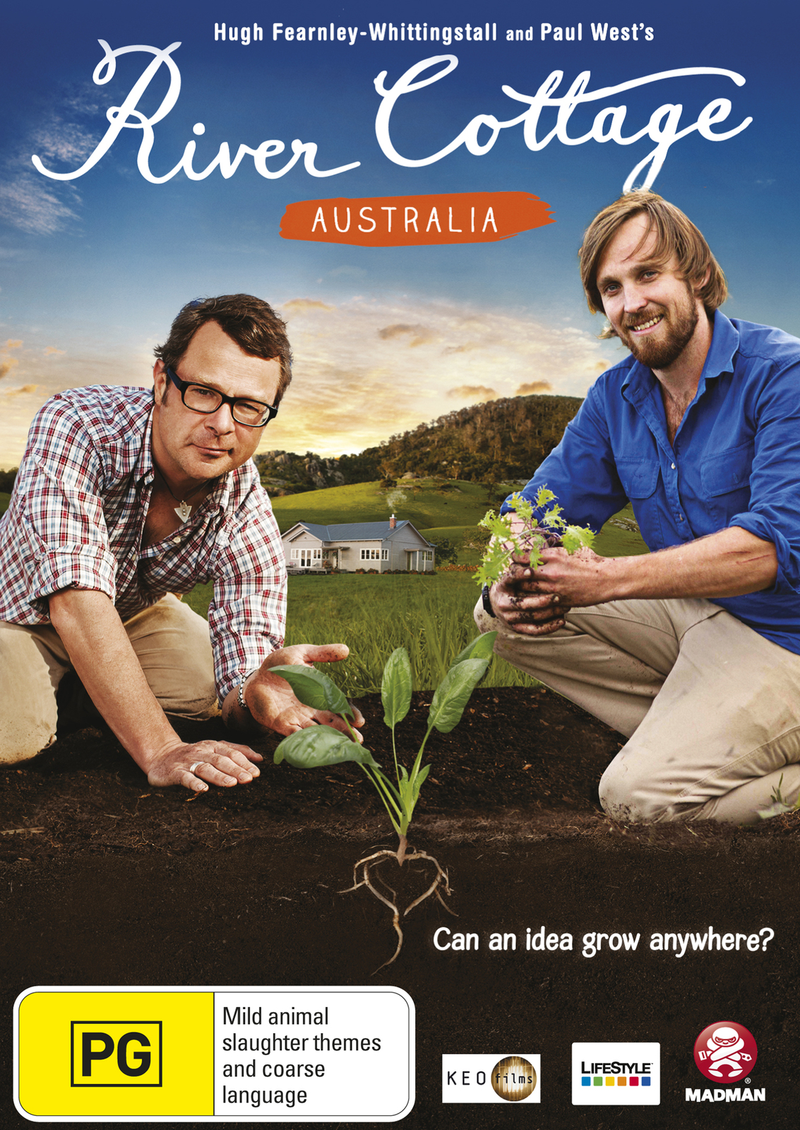River Cottage Australia on DVD image