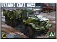 Takom 1/35 Ukraine Kraz-6322 (Late Type) Model Kit