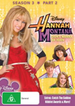 Hannah Montana - Season 3: Part 2 DVD image