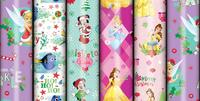 Disney Christmas Wrapping Paper (2m Roll) image