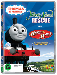 Thomas & Friends: Misty Island Rescue / Hero of the Rails (2 Disc Set) on DVD