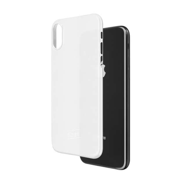 Kase Go Original iPhone X Slim Case- White Magic