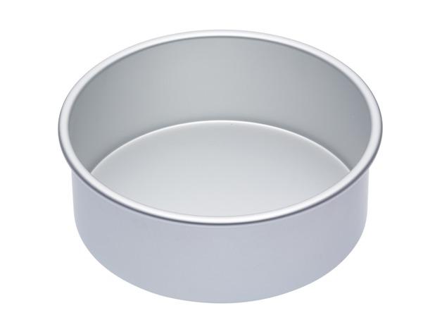 MasterClass: Silver Anodised Round Deep Cake Pan (20cm)