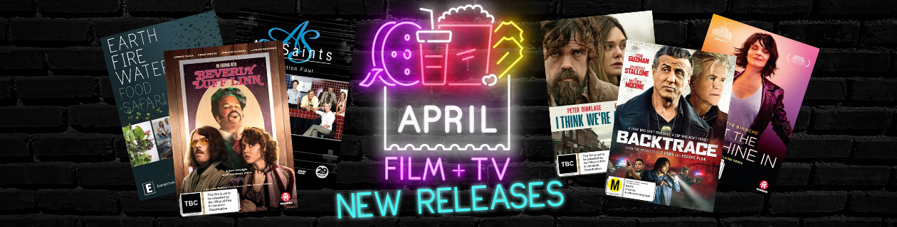 New Film and TV Releases for April!