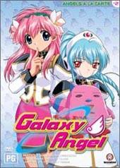 Galaxy Angel - Vol 02: Angels A La Carte on DVD