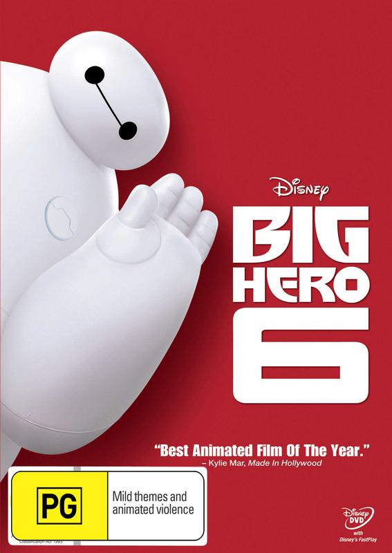 Big Hero 6 on DVD