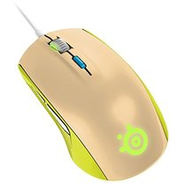 SteelSeries Rival 100 Gaming Mouse - Gaia Green for PC Games