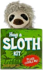 Hug a Sloth Kit (Book with Plush) by Talia Levy